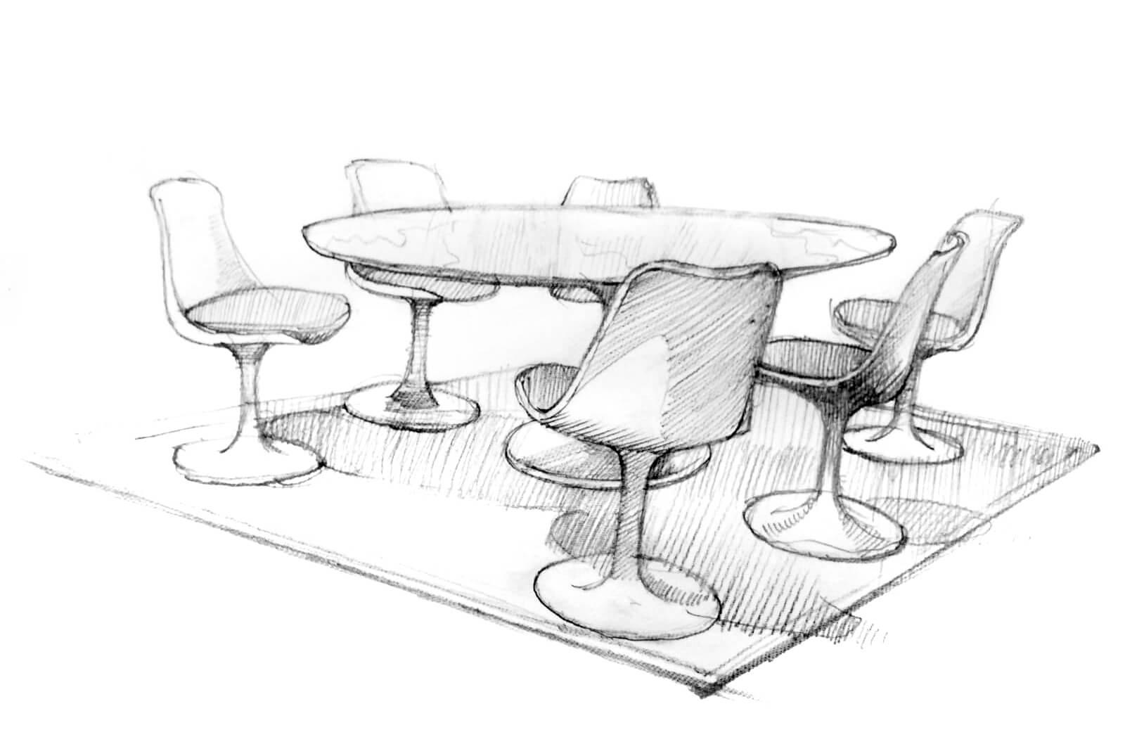 disegno-tavolo-knoll